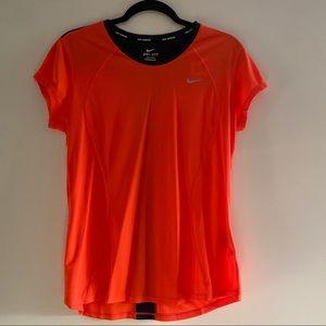 Nike Dri-FIT Racer Short Sleeve Running Shirt